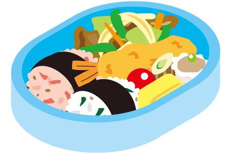 Lunch box for japanese children