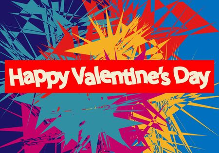Love, Valentine day and heart design. Vector concept of positive emotional, mental states of humanity. For your celebrating of any kind of love, wedding or couple, passion, or wrapping stuff.