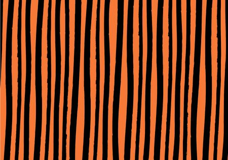 Halloween abstract retro vintage lines background color. Vector watercolor imitation. Backdrop for print or web. Digital dry brush strokes. Bright colorful retro wallpaper.