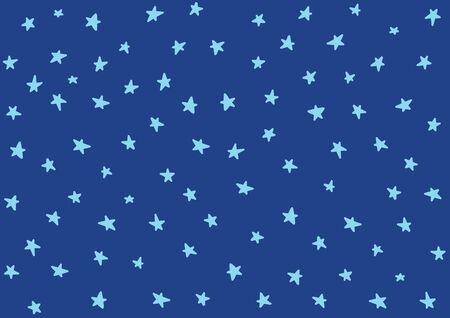Star night pattern template baby children kids