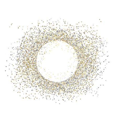 Vector confetti splash dots isolated burst colors