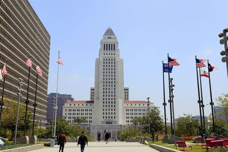 municipal court: Los Angeles City Hall Building