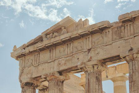 friezes: Friezes of the Parthenon, Athens, Greece