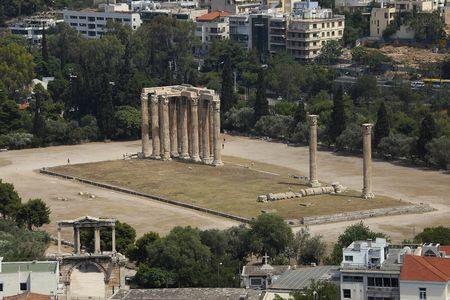 olympian: Temple of Olympian Zeus Ruins, Athens, Greece