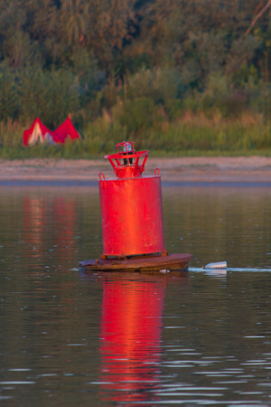 buoy: Buoy on a water
