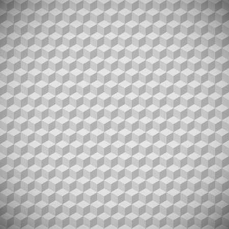 gray colors: 3D squares abstract background. Gray colors.