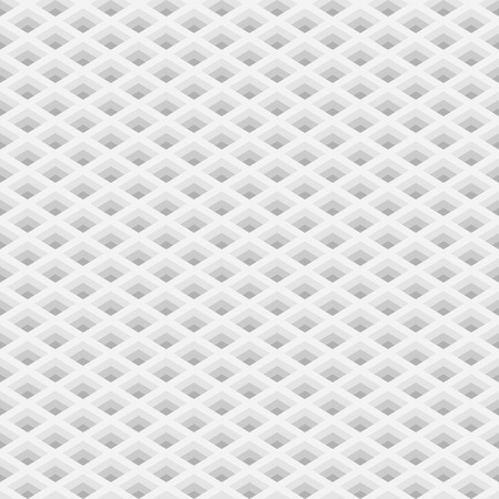 perspective grid: Perspective grid with square holes seamless pattern