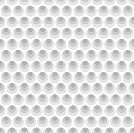 pimples: Gray circles seamless pattern background Illustration