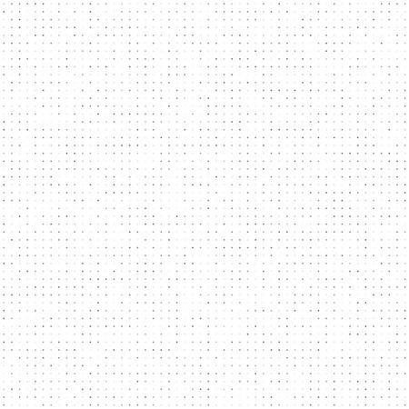 Points gris teintés seamless pattern. Fond blanc. Vecteurs