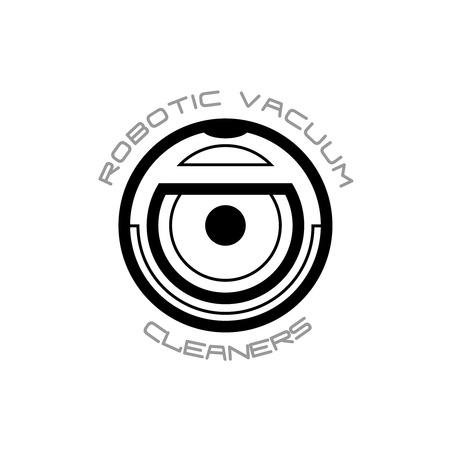 Vacuum symbole de robot nettoyeur