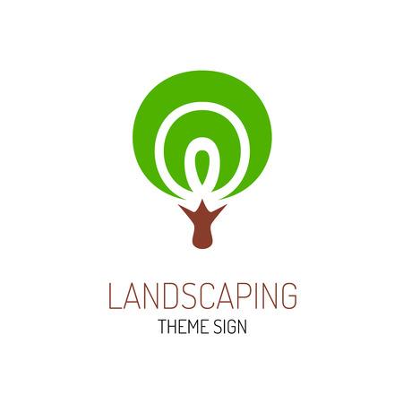 tree logo: Tree logo template