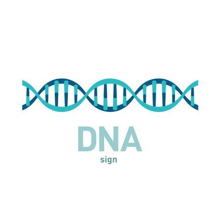 DNA spiral vector sign