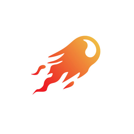 fireballs: Fire ball logo