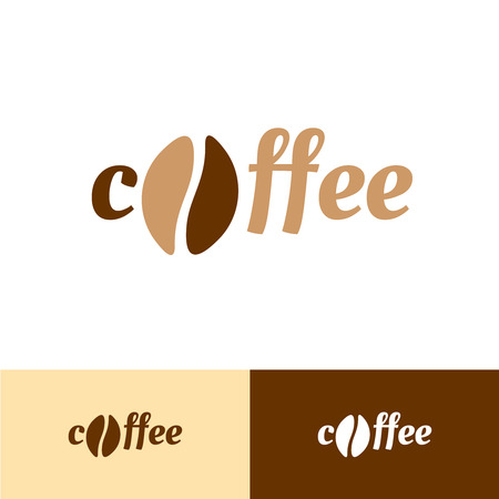 instead: Coffee text logo. Bean instead of O letter. C and O monogram as a cup.