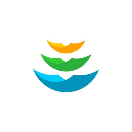 Transparente Farbfolien Logo-Vorlage. Office-Dokumente Oder Bücher ...
