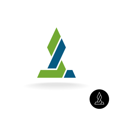financial symbol: Financial concept. Force link connection monumental sign. Power of two sides. Synergy symbol. Arrow grow up sign.