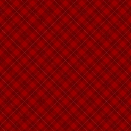 diagonal  square: Lumberjack checkered diagonal square plaid red seamless pattern background