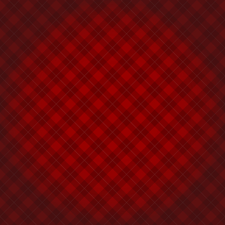 red and white: Lumberjack checkered diagonal square plaid red pattern background with darkened corners