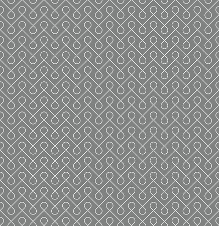 gray thread: Thin linear seamless patern background. White and gray colors.