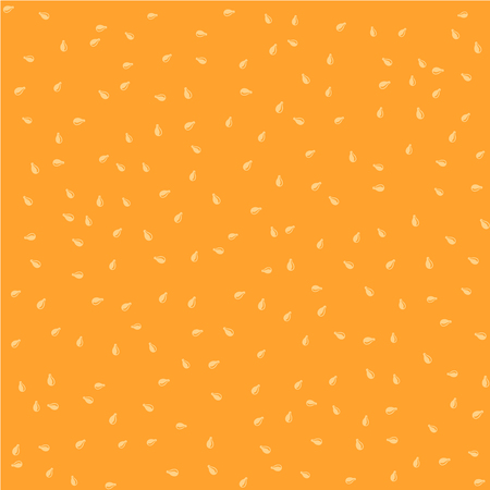 sesame seeds: Sesame seeds color seamless background random pattern texture Illustration