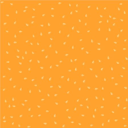sesame seed: Sesame seeds color seamless background random pattern texture Illustration