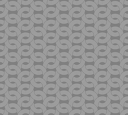 parallel: Parallel rounded weave lines seamless pattern. Gray neutral color. Illustration