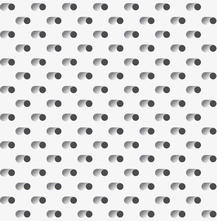 Vent holes perforated surface or grater dots texture seamless pattern Vetores