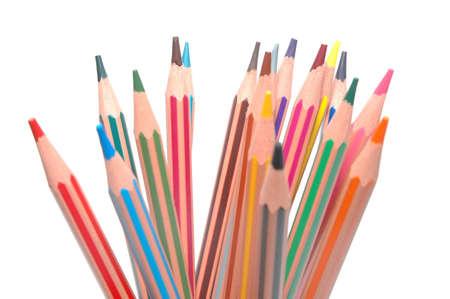 many coloured pencils Stock Photo - 6343872