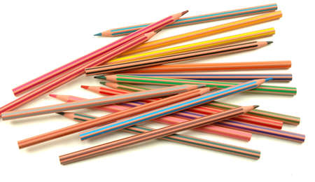 Striped coloured pencils Stock Photo - 6770307