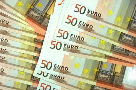 negotiable instrument: Fifty Euro Banknotes