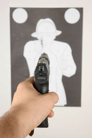 Training on the shooting range Stock Photo - 7540126