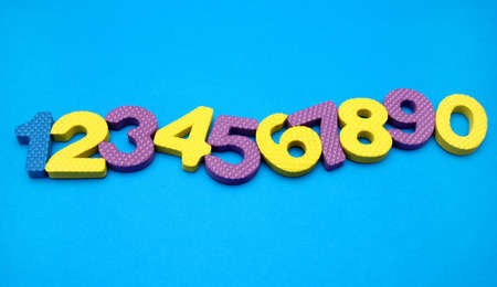 numbers -ten objects Stock Photo - 7560307