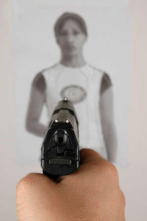 Target shooting-sports training photo