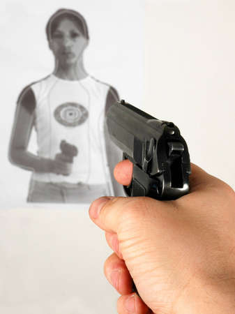 shooting range - target shooting photo