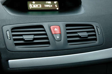 fresh air: Dashboard-control panel with air blowings