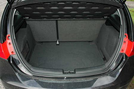 Empty trunk of the car 版權商用圖片