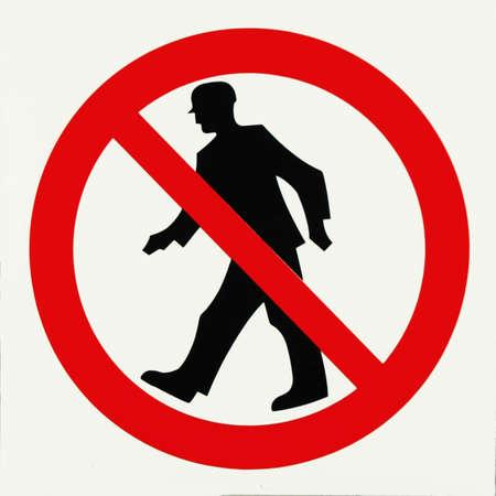 unauthorized: Unauthorized no admittance -warning sign