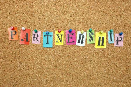reciprocity: Partnership pinned on noticeboard