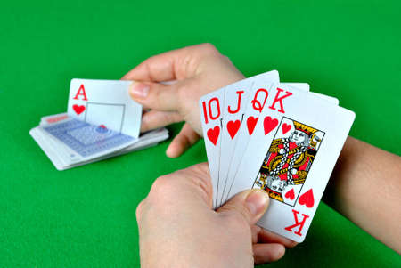 royal flush: Royal Flush in playing cards