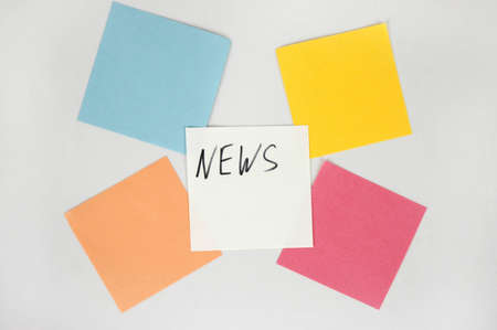 News- blank color papers ready for news Stock Photo - 9291661