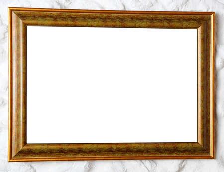 retro fine wooden frame photo