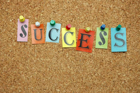 pinned: Success pinned on noticeboard