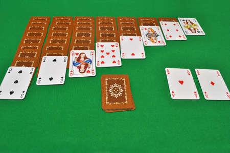 paciencia: Jugando la paciencia con tarjetas