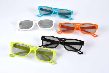 3D 편광 안경 세트