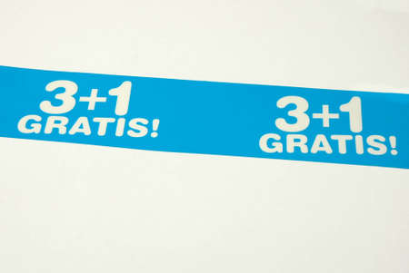 Gratis conception three + one Stock Photo - 15880172