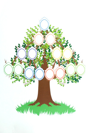 character traits: Your Own Family Tree - Illustration