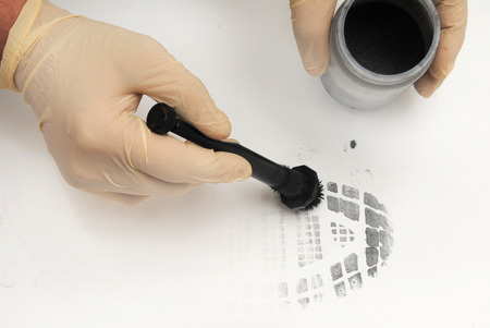 revealing tracks: revealing and preserving the shoe print-investigation