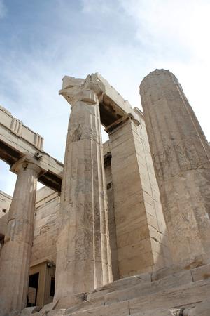 acropolis: Ruins of Acropolis -Athens, Greece