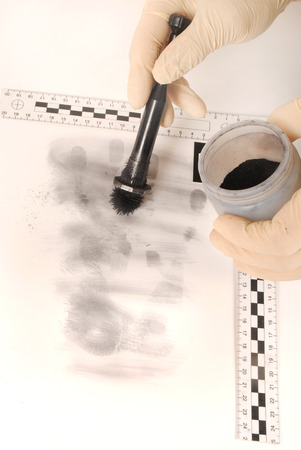 Revealing and preserving the fingerprints- investigation of the scene