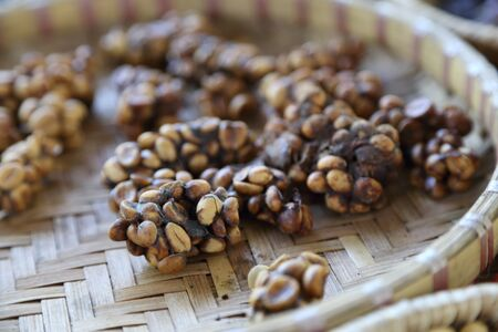 The picture of coffee bean.